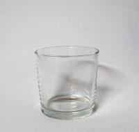 Kerzenglas Teelichthalter Windlicht Dekoglas Glas für Tischdeko