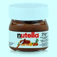 Mini Nutella Glas personalisiert Gastgeschenk