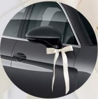 Antennenschleifen Autoschleifen Hochzeit Autoschmuck