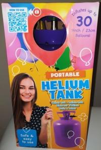 Ballongas Helium für 30 oder 50 Ballons